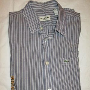 Lacoste Button Up Long Sleeve Shirt